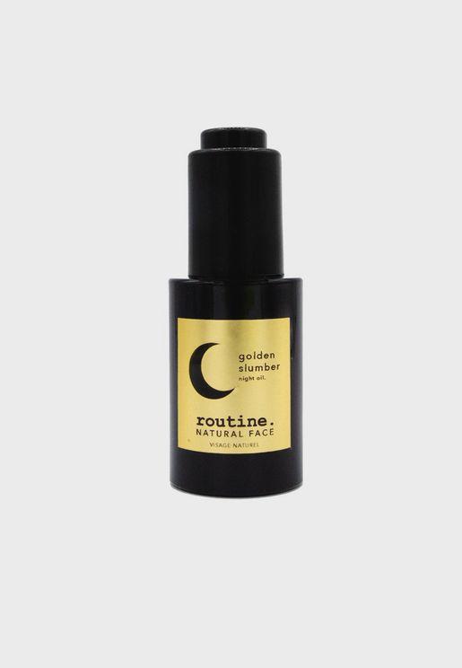 Golden Slumber Face Night Oil - 30Ml