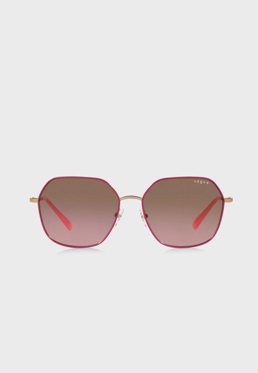 0Vo4198S Oversized Sunglasses