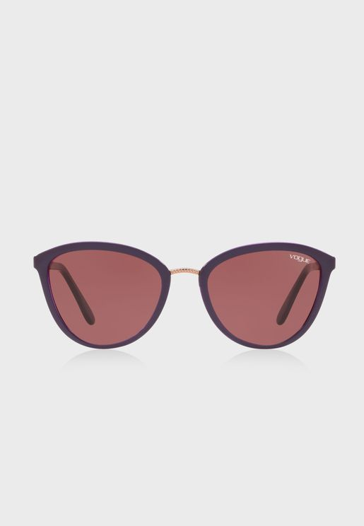 0VO5270S Edgy Braid Sunglasses