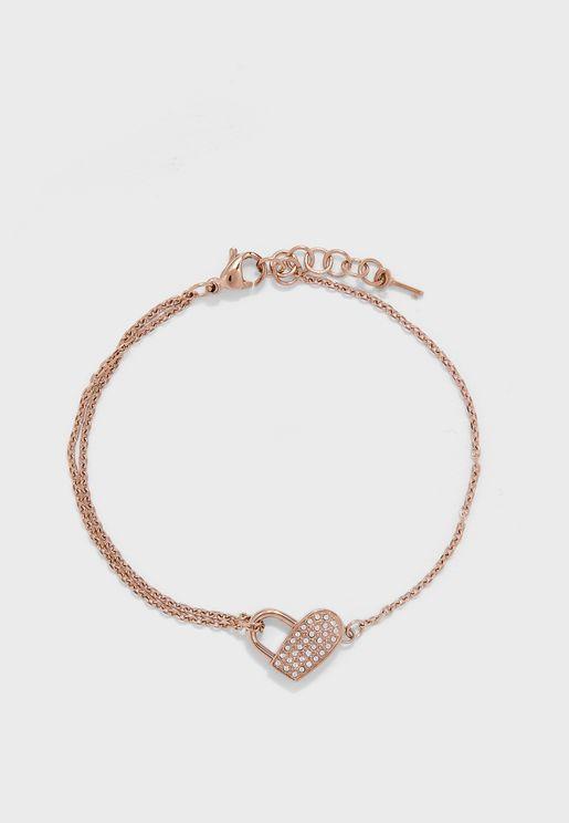 1580072 Soulmate Heartlock  Bracelet