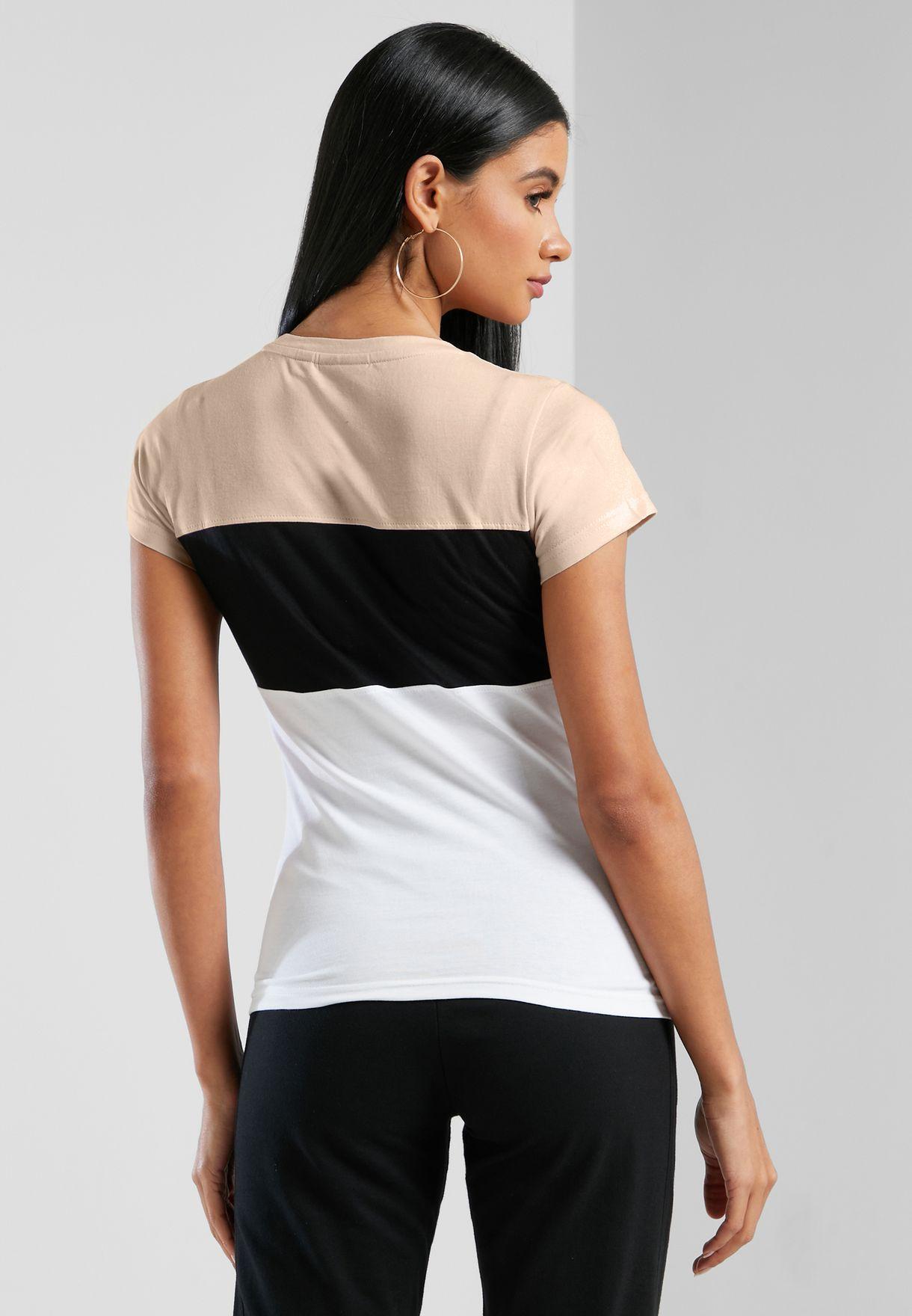 Jakkin Colour Block T-Shirt