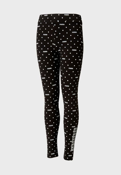 Youth Graphic AOP Leggings