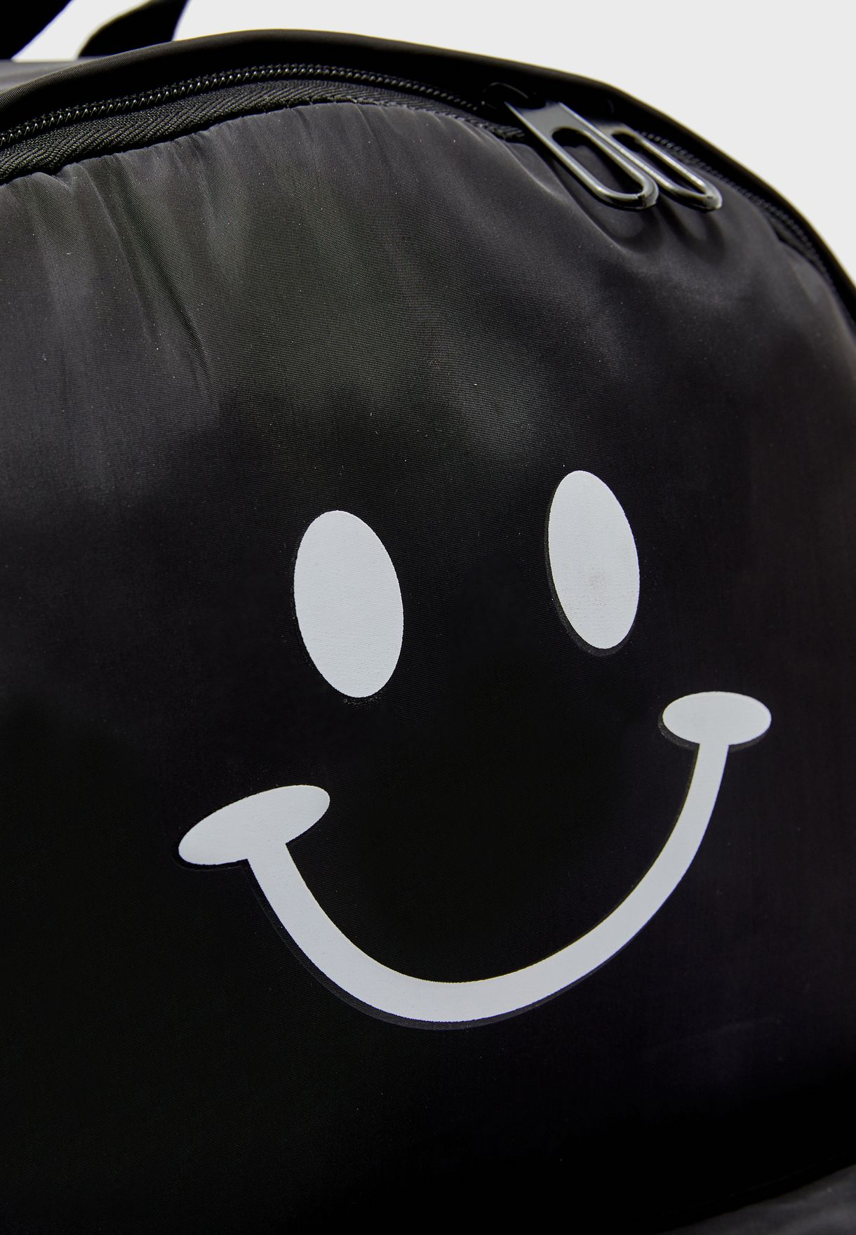 Smiley Printed Back Pack