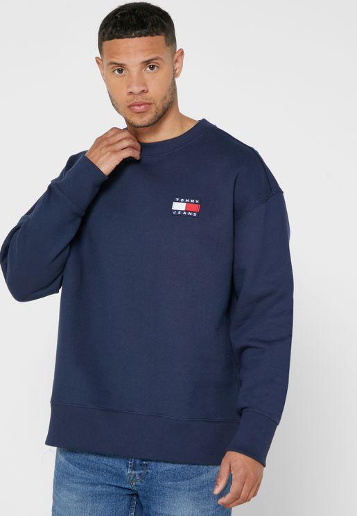 Logo Badge Sweatshirt
