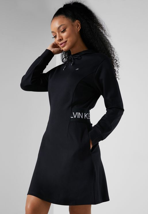 Essential Hooded Dress