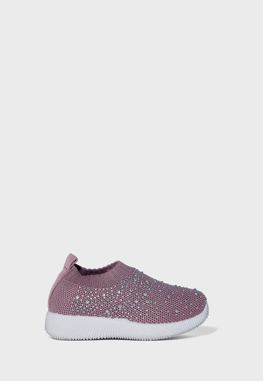 Infant Printed Slip On