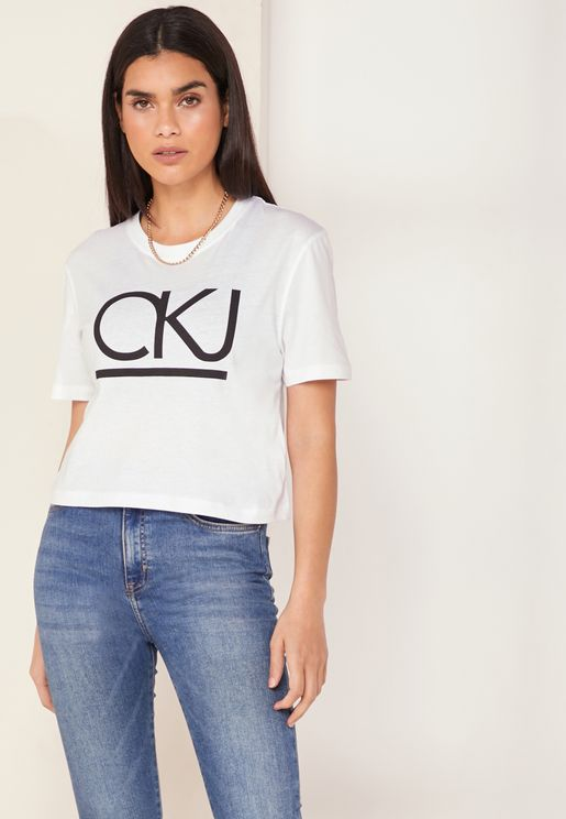 Logo Crop T-Shirt