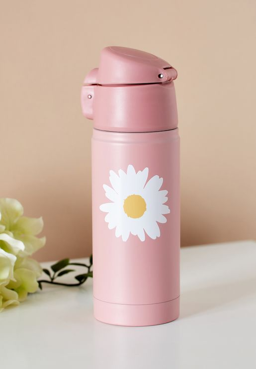 Floral Water Bottle