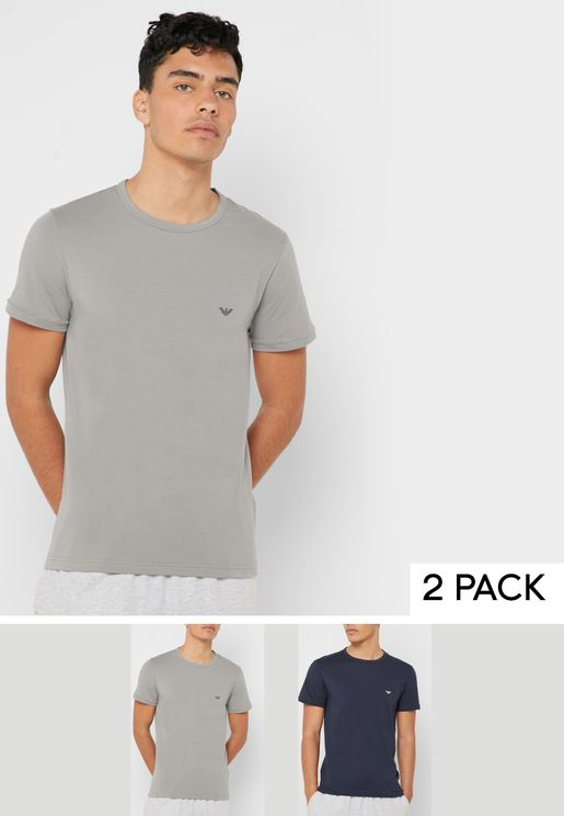 2 Pack V-Neck T-Shirts