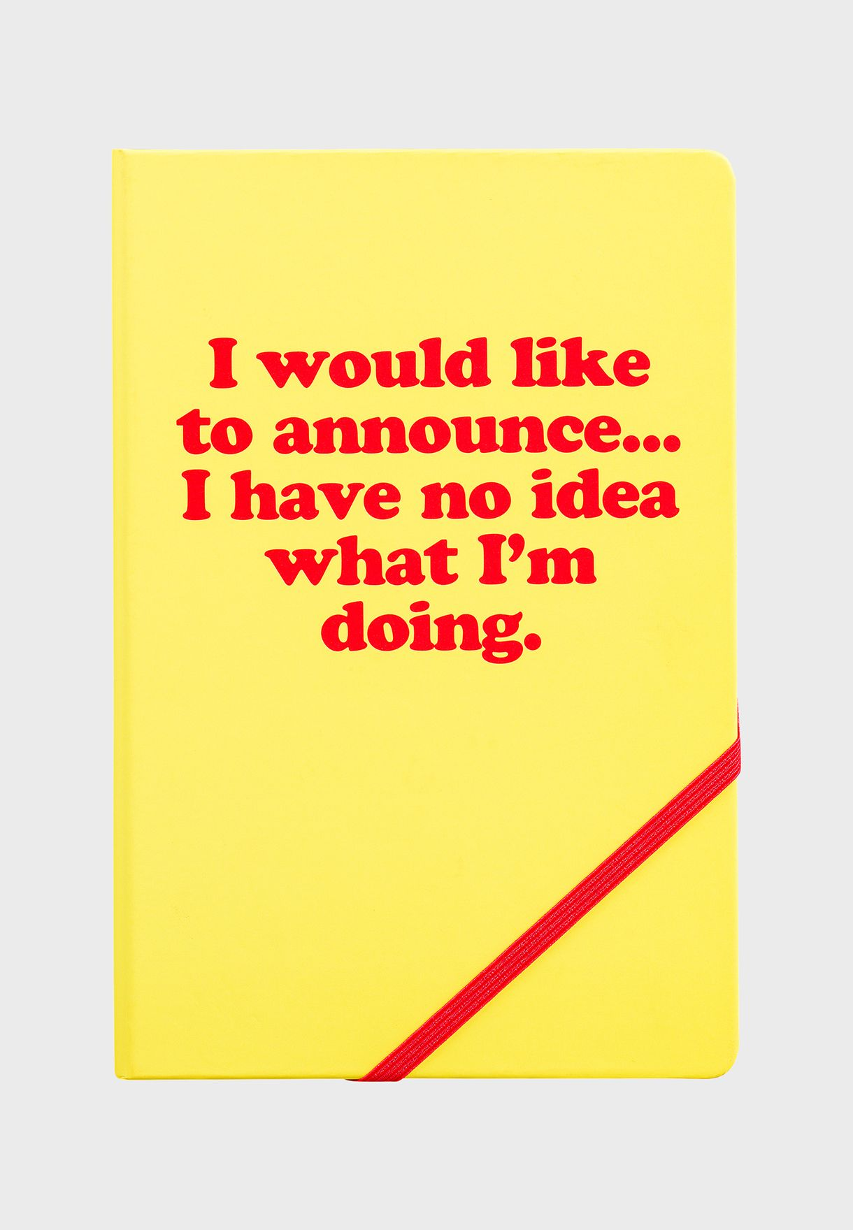 A5 I Would Like To Notebook