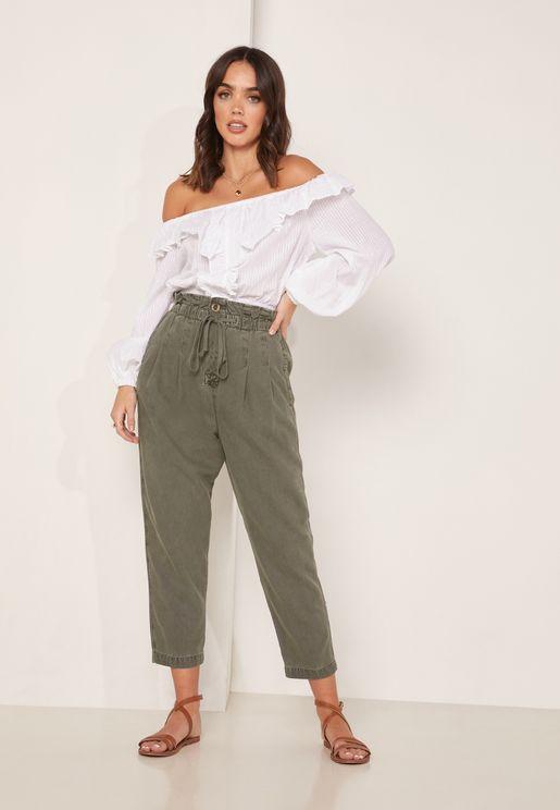 Margate  Paperbag Waist Pants