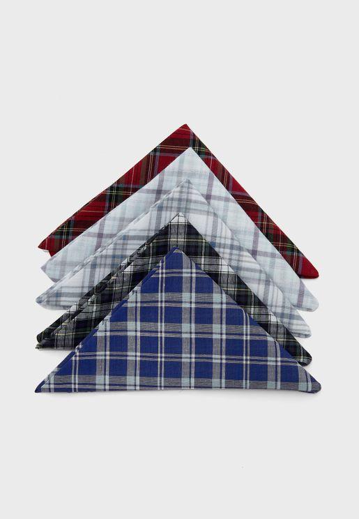 Pack Of 5 Handkerchief