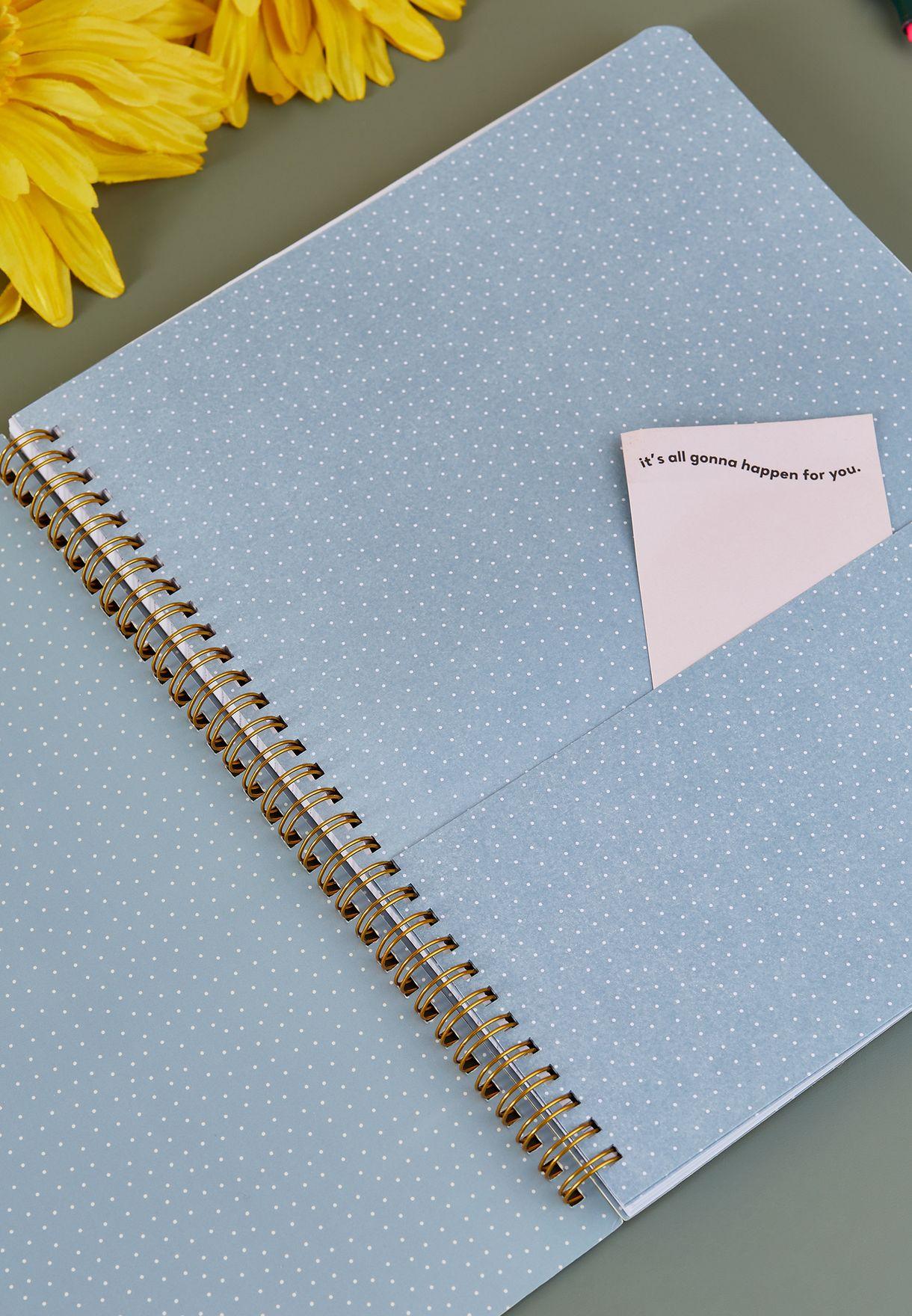 دفتر ملاحظات دوار الشمس A4