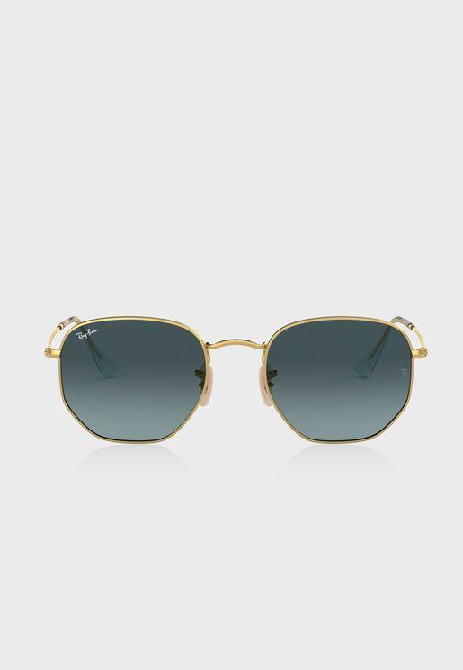 0Rb3548N Oversized Sunglasses