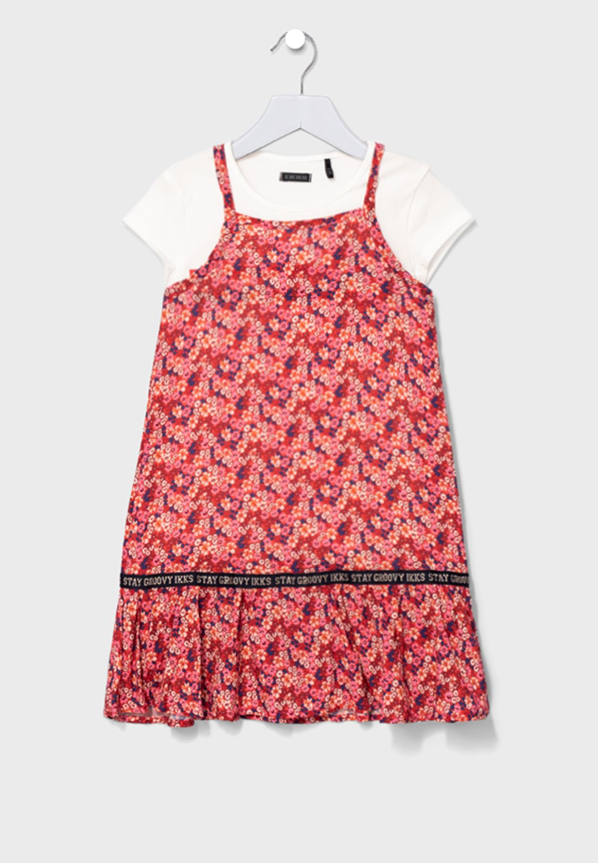 Youth Printed Dress