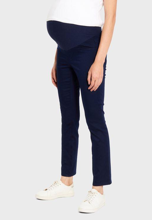 Straight Leg Maternity Pants