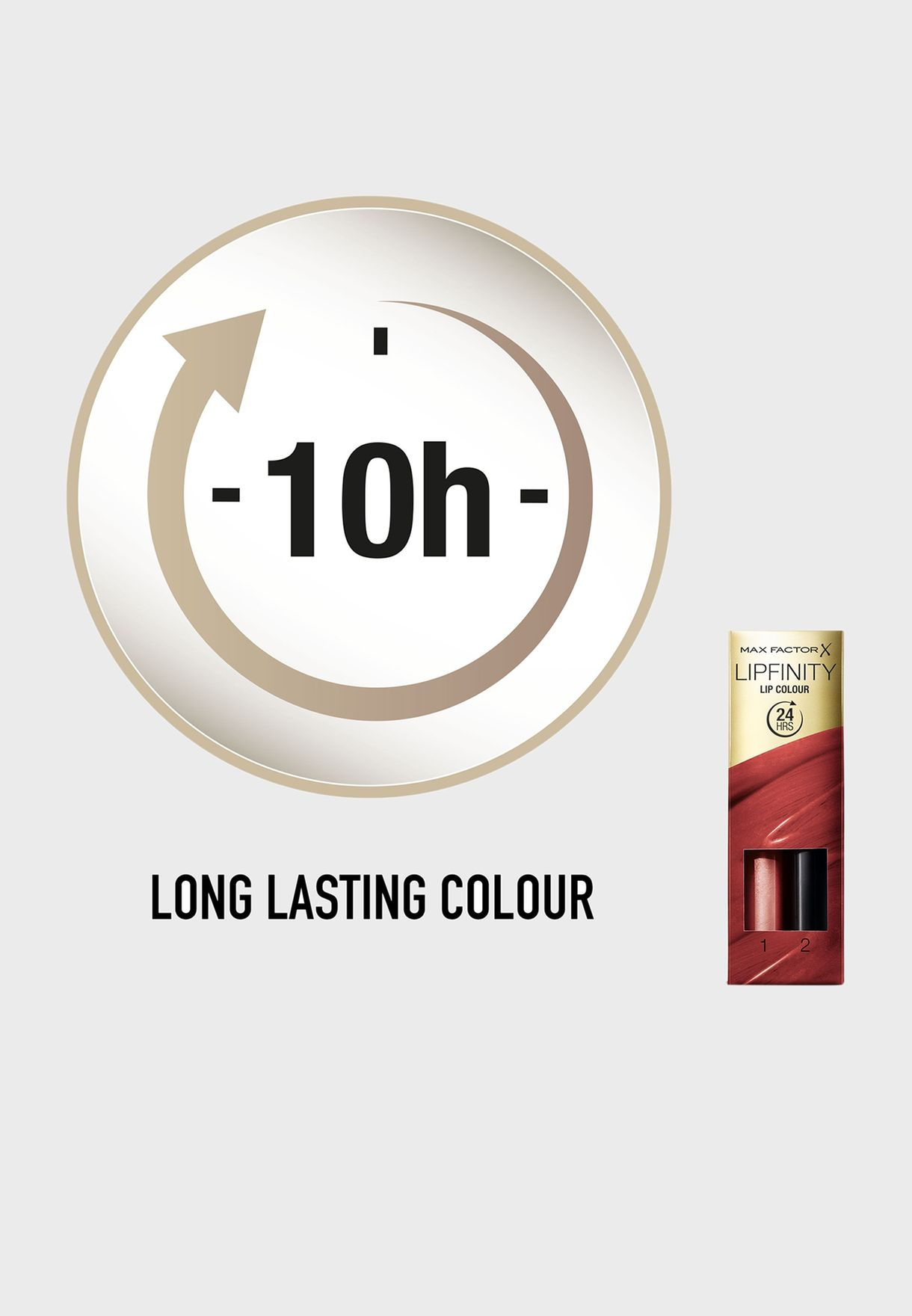 2 Step Long Lasting Lipstick- 390 All Day Seductiv