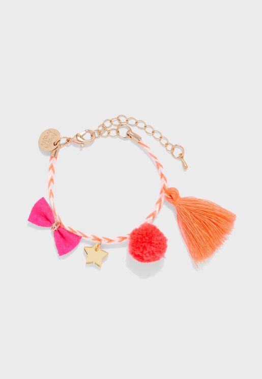 Kids Plaited Bracelet