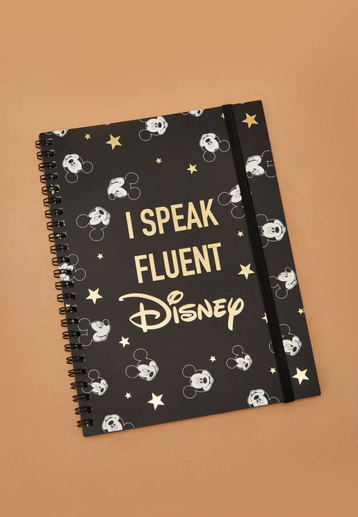 A5 Disney Notebook