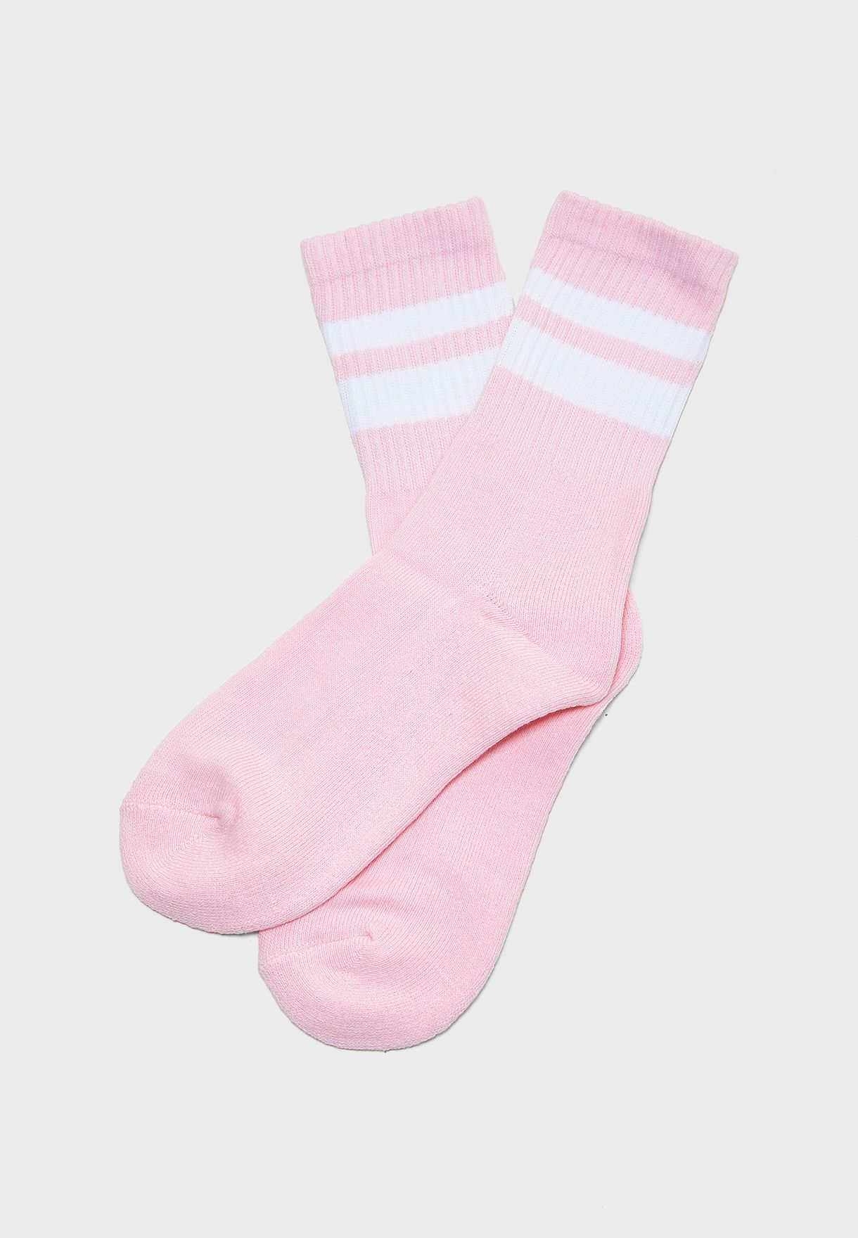 Kids Double Stripped Socks