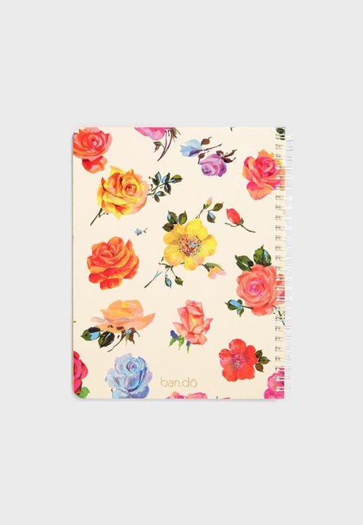 Mini Floral Notebook