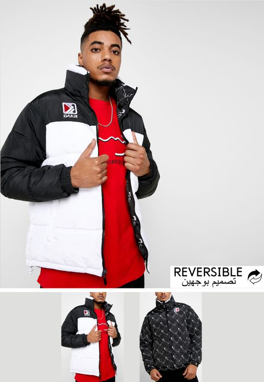 Retro Reversible Puffer Jacket