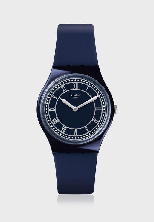 Blue Ben Analog Watch