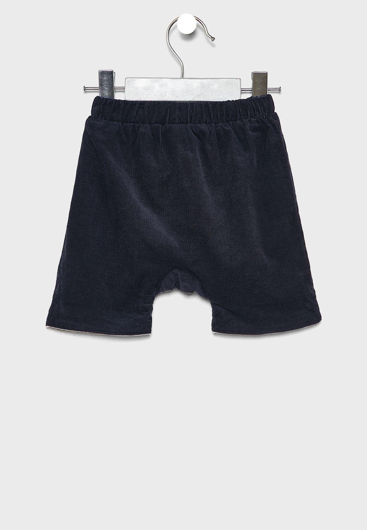 Infant Rolled Hem Shorts