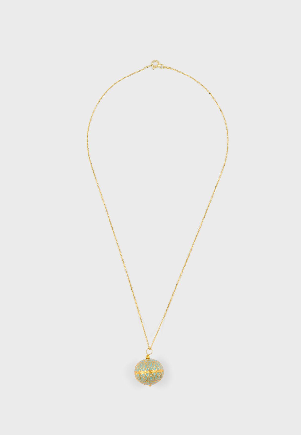 Saira Pendant (Turquoise)