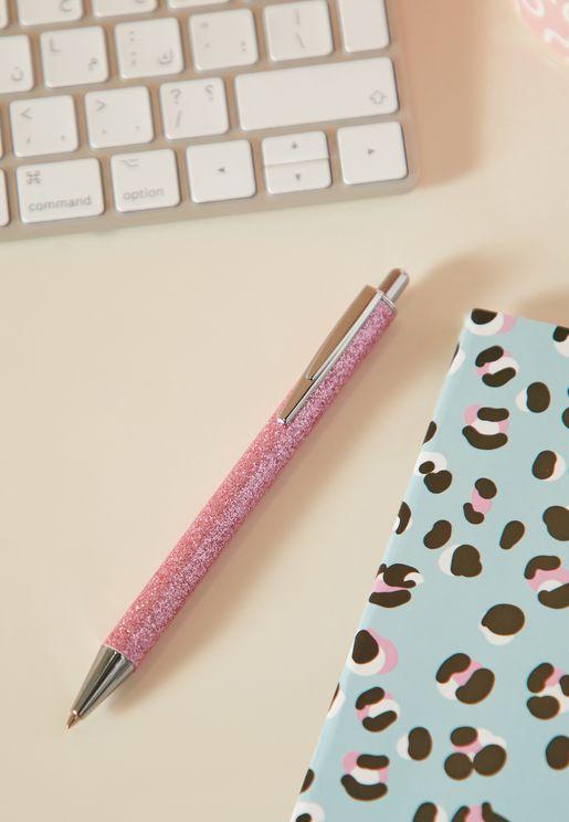 قلم حبر براق