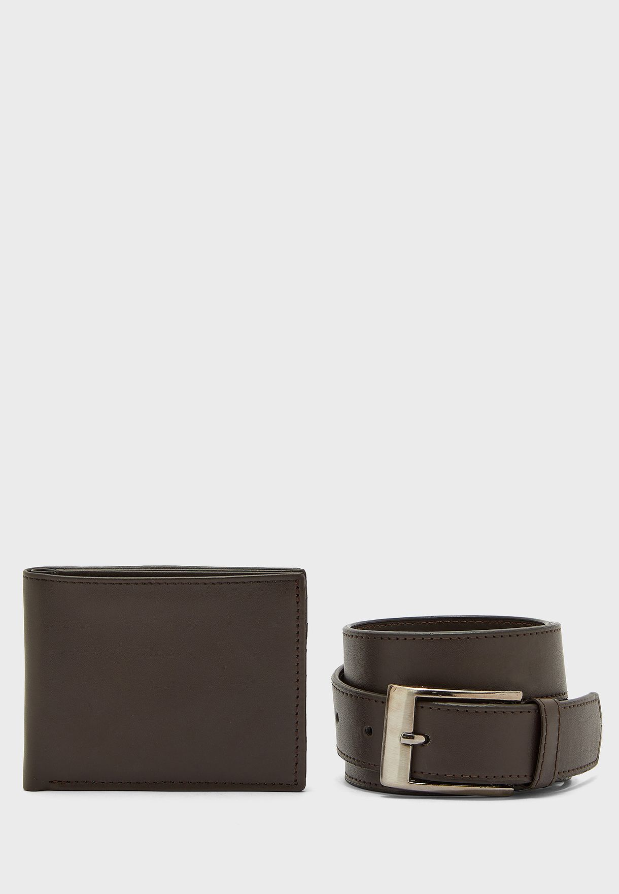 Wallet & Belt Gift Set