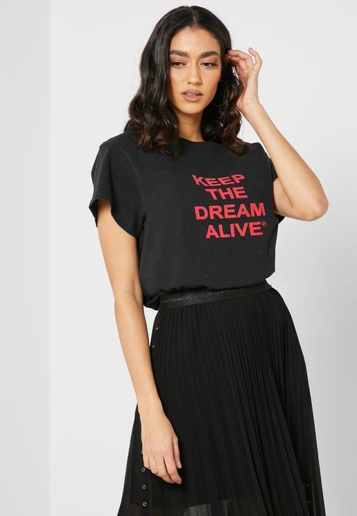 Dona Slogan T-Shirt