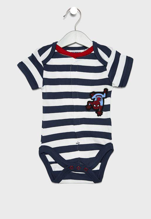 Infant Spiderman Bodysuit