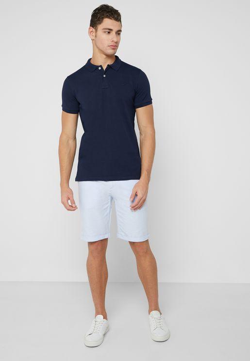 Casual Slim Fit Bermuda Shorts