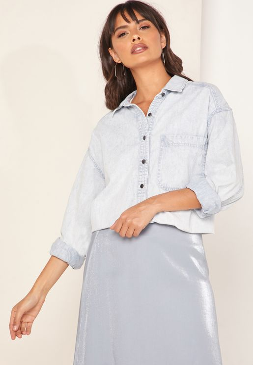Echo Rock Denim Button Down Shirt