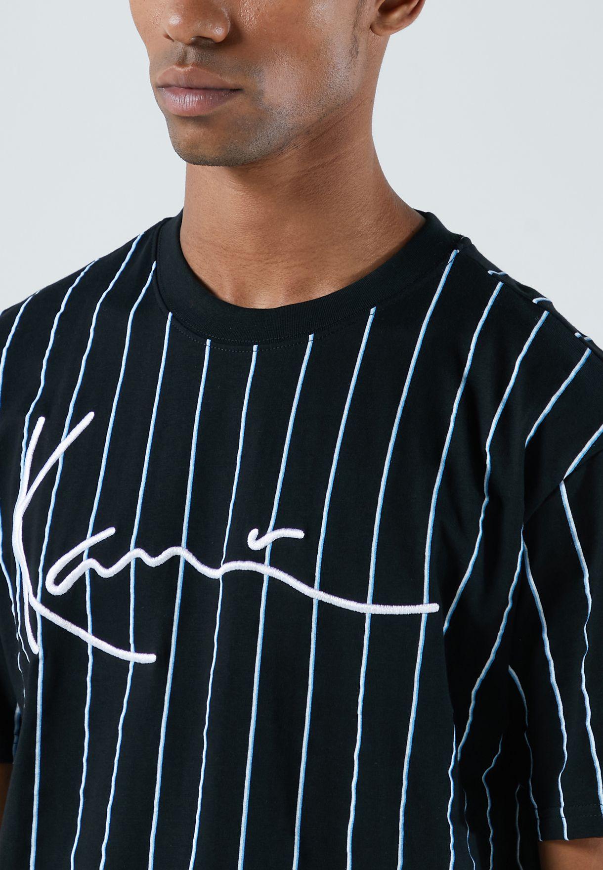 Signature Pinstripe T-Shirt
