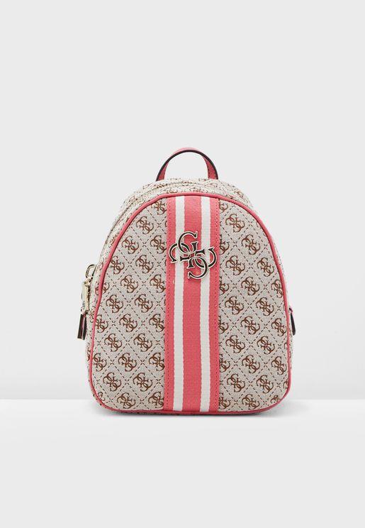 Guess Vintage Straps Backpack