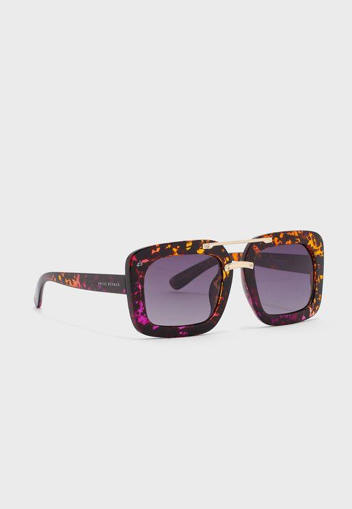 The Karl Geometric Oversized Sunglasses