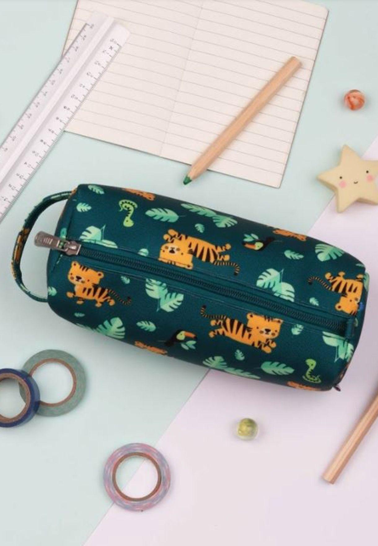 Jungle Tiger Pencil  Case