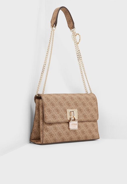 Downtown Cool Flap Over Convertible Crossbody