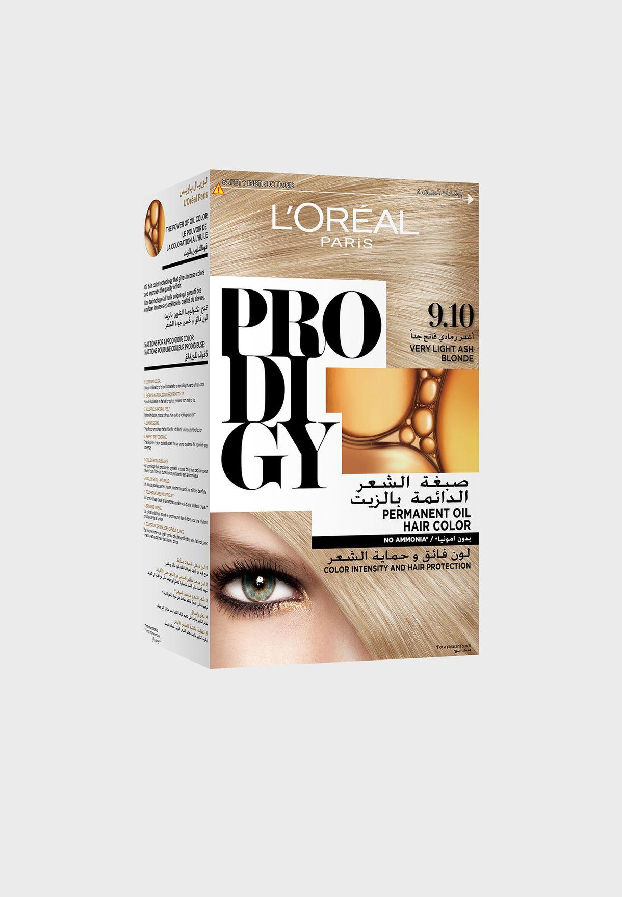 Prodigy Permanent Hair Color 9.1 Whitegold