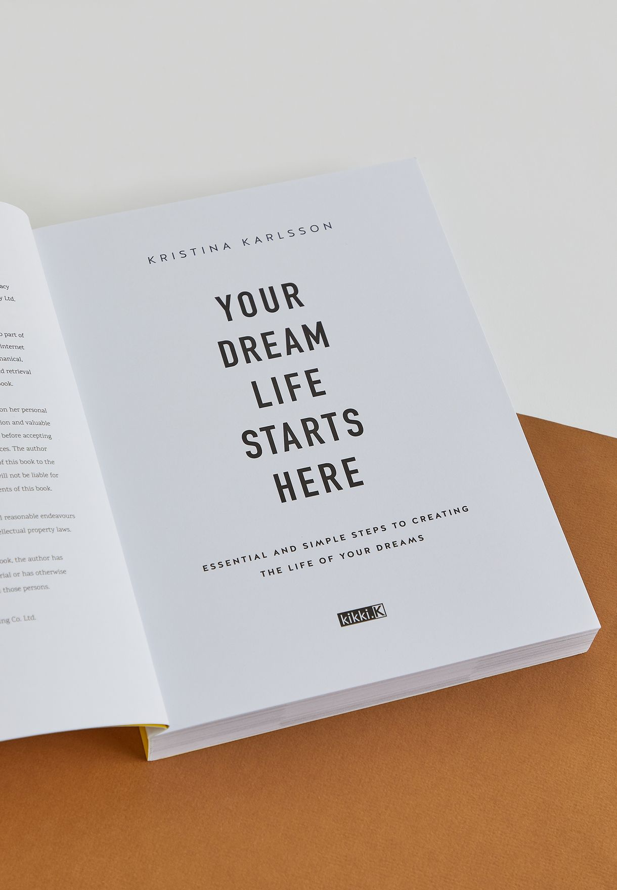 كتاب Your Dream Life StartsHere