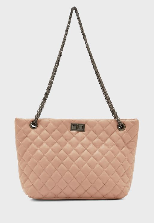 Quited Tote Bag