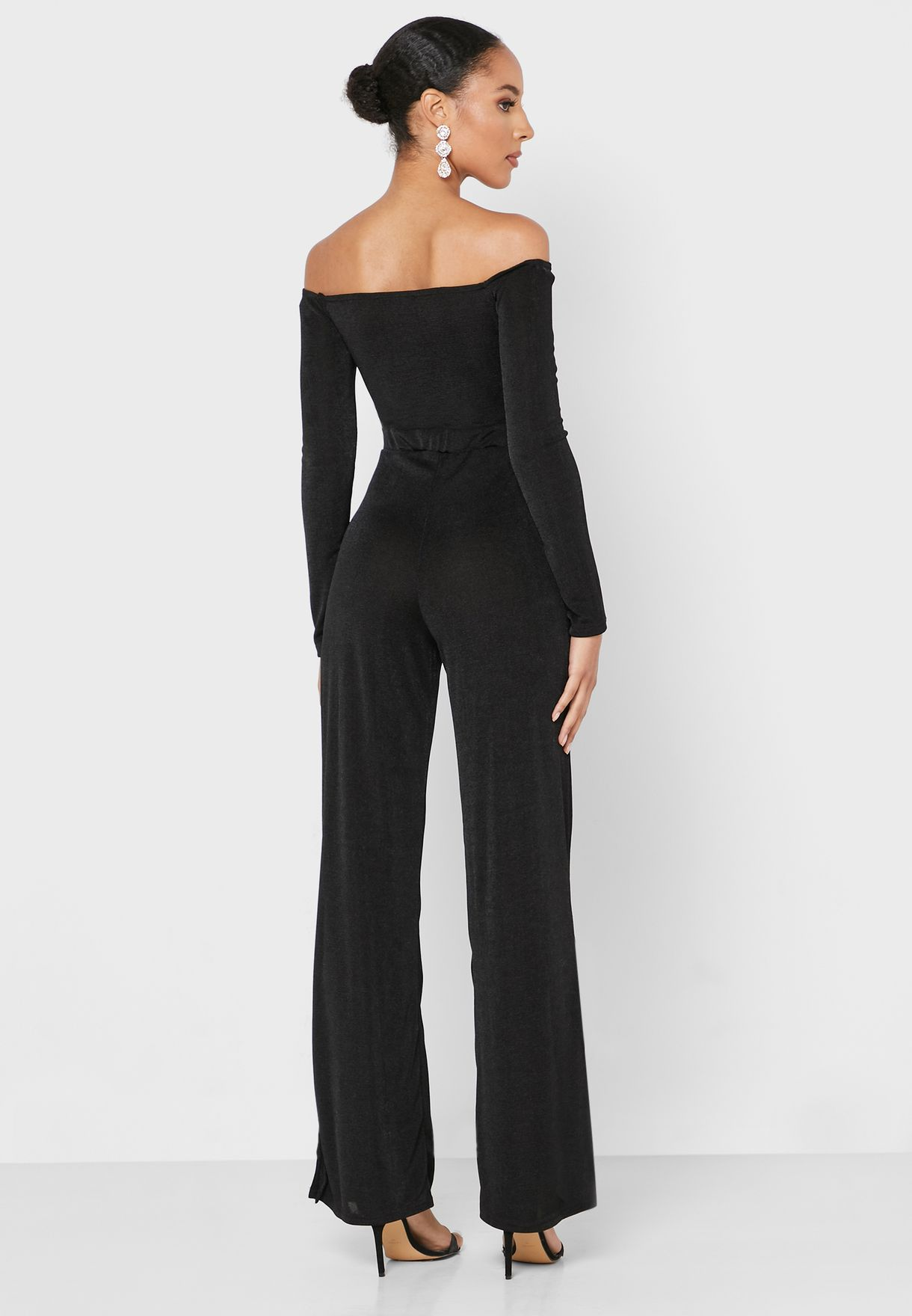 Front Twisted Jumpsuit