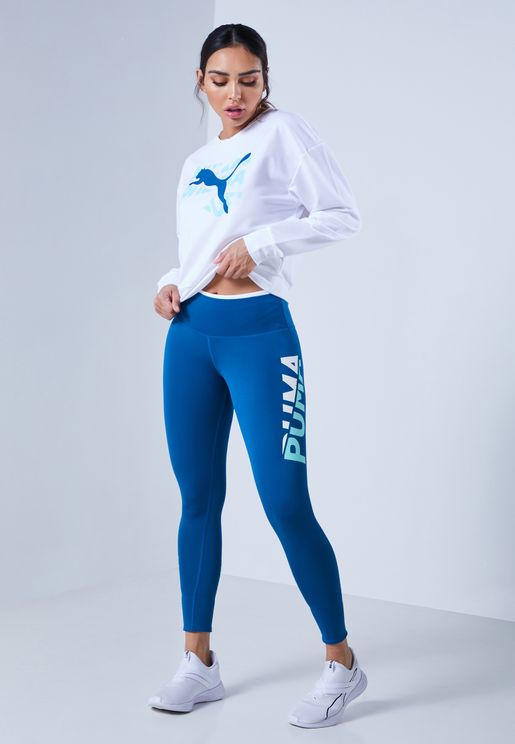 Modern Sports Fold Up 7/8 Leggings
