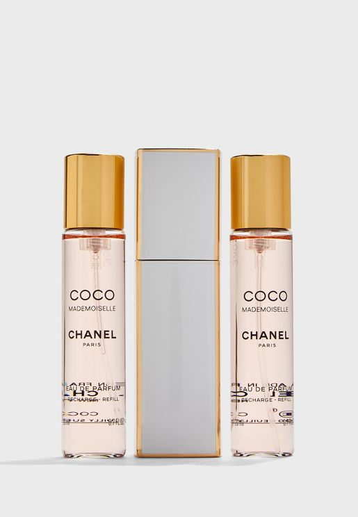 Coco Mademoiselle Edp 20ml + 3Twist & Spray