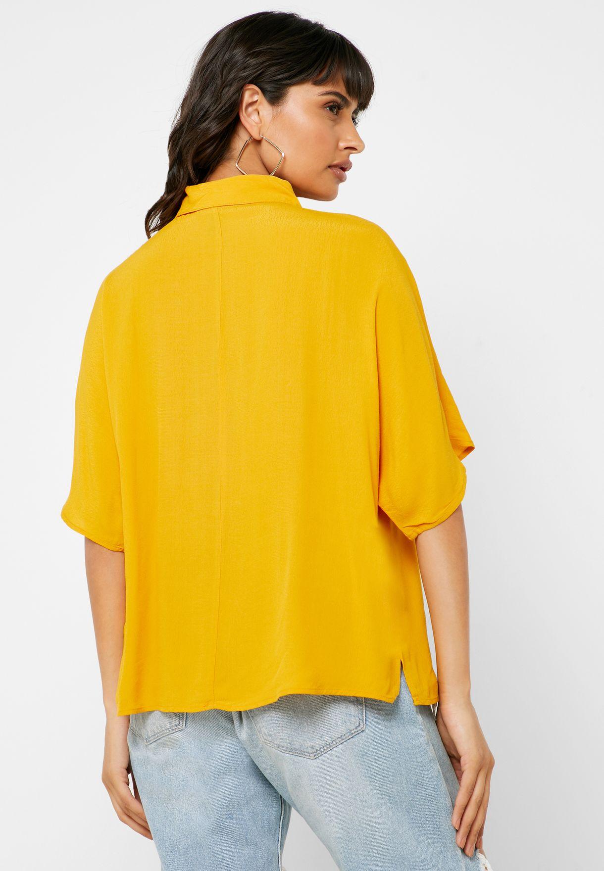 Boxy Short Sleeve Shirt