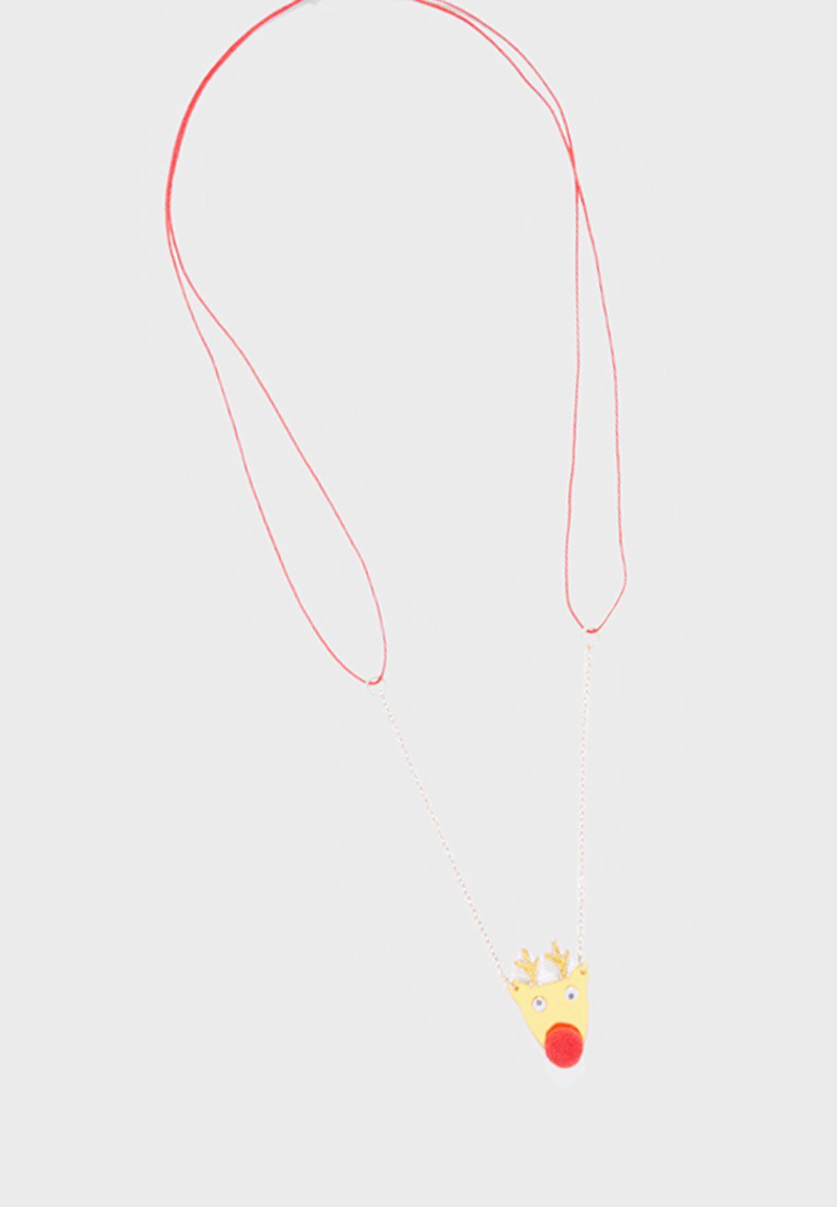 Christmas Kids Reno Necklace