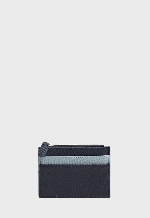 Zip Through Card Holder
