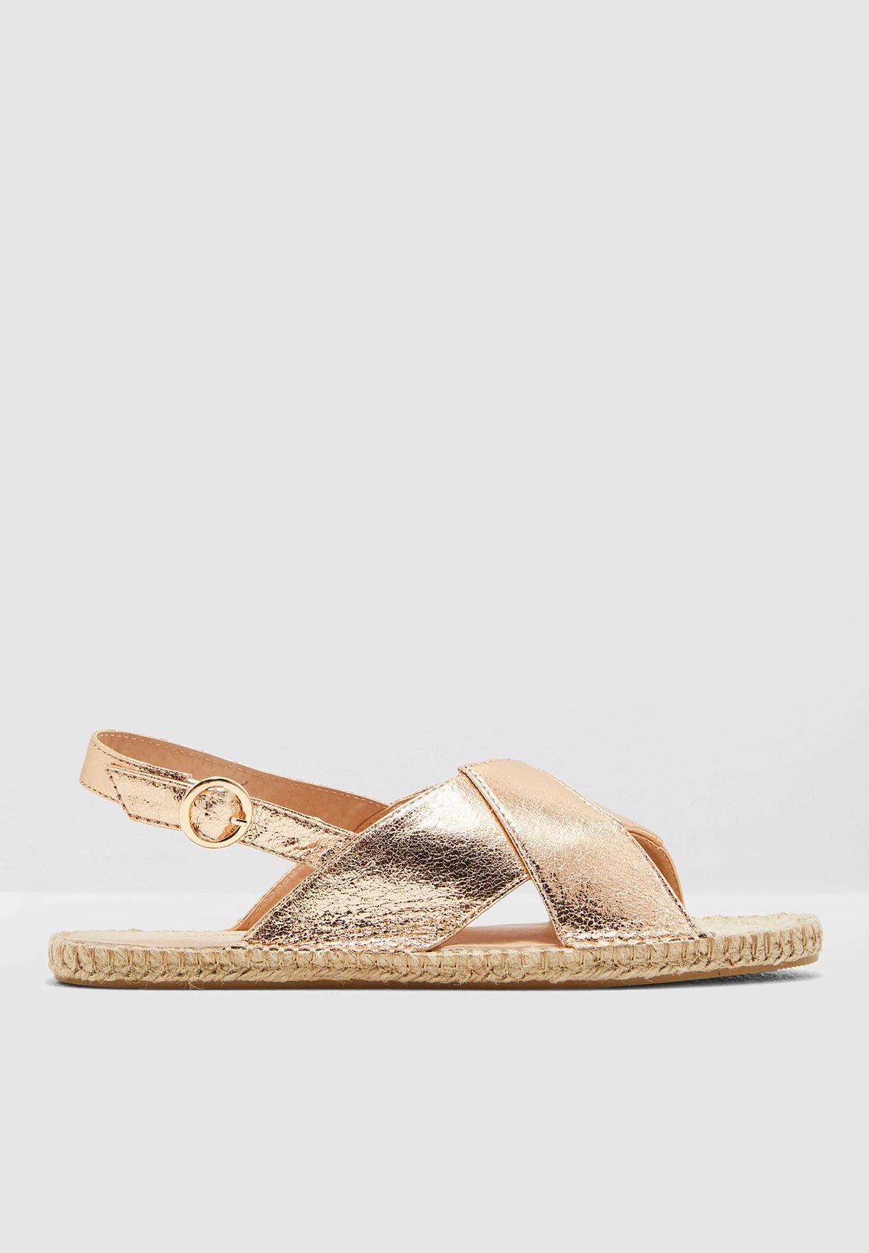 Fizz Cross Front Sandal